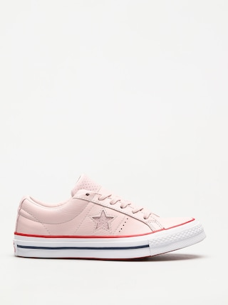 Boty Converse One Star (barely rose/gym red/white)