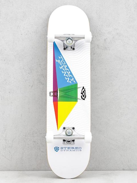 Skateboard Stereo Tommy Fynn Dynamics (white)