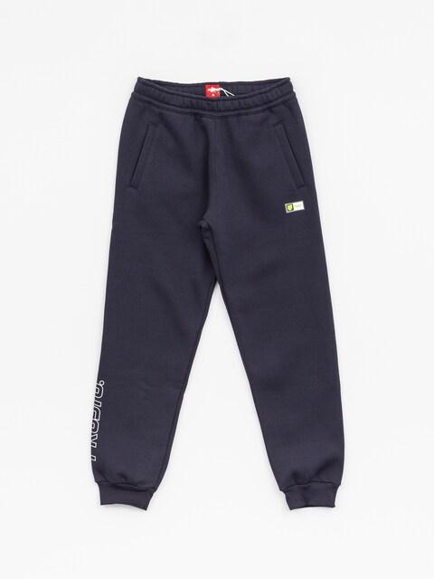 Kalhoty Prosto Jogger Pants Snake (night blue)