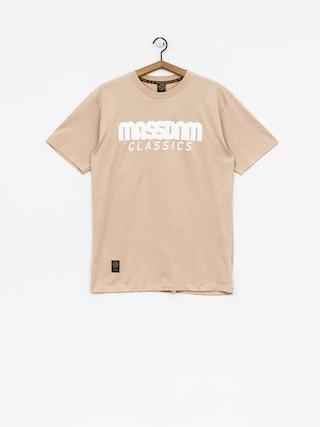 Tričko MassDnm Classics (beige)