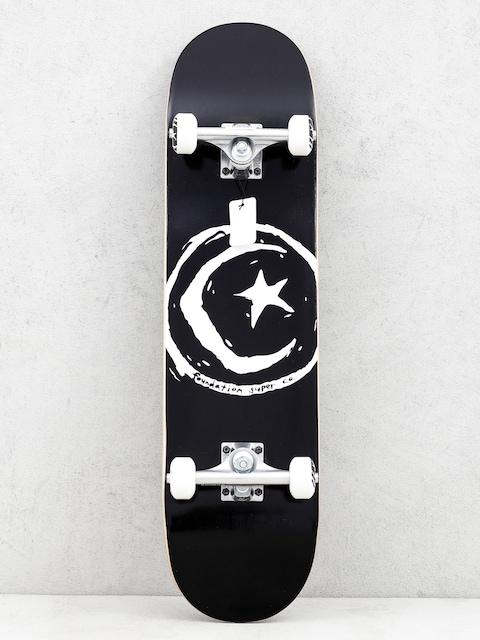 Skateboard Foundation Star And Moon (black/white)
