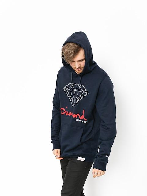 Mikina Diamond Supply Co. Og Sign (navy)