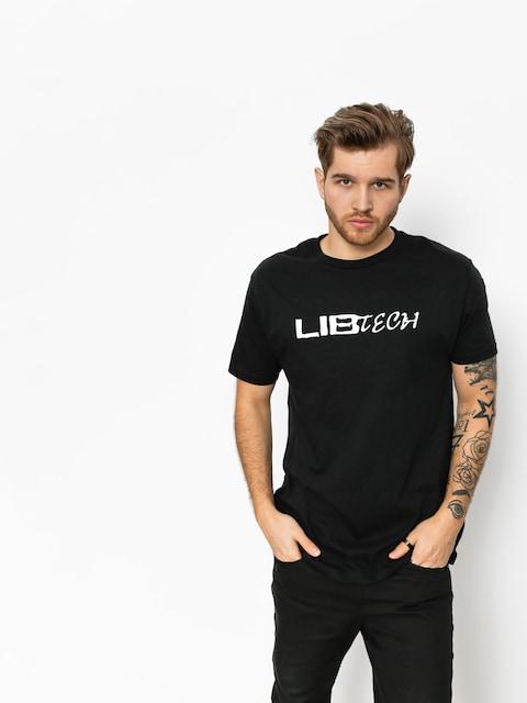 Tričko Lib Tech Logo (black)