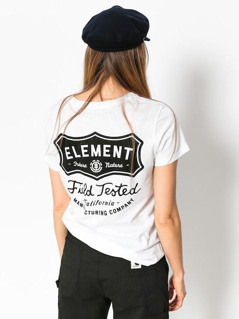 Tričko Element Test Crew Wmn (white)