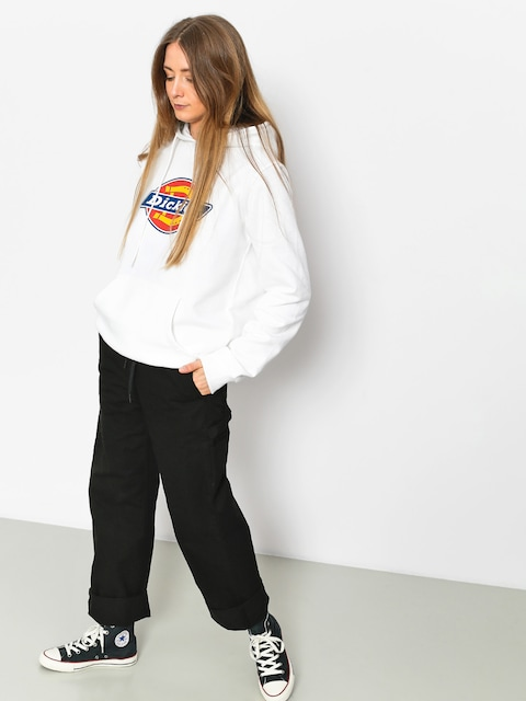Mikina s kapucí Dickies Nevada HD Wmn (white)
