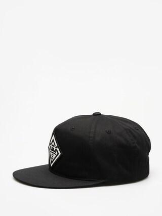 Kšiltovka  Supra Stncl Ptch Slidr ZD (black)