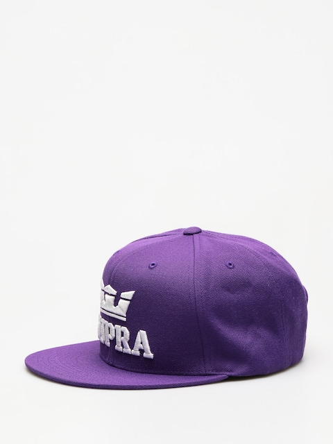 Kšiltovka  Supra Above Snap ZD (purple/white white)