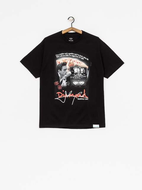 Tričko Diamond Supply Co. Ragged (black)