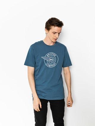 Tričko Brixton Mercury Prt (dusty blue)