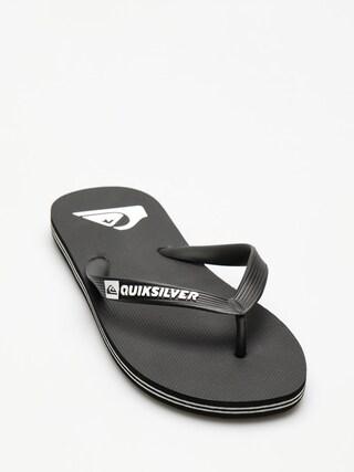 Plu00e1u017eovky Quiksilver Molokai (black/black/white)