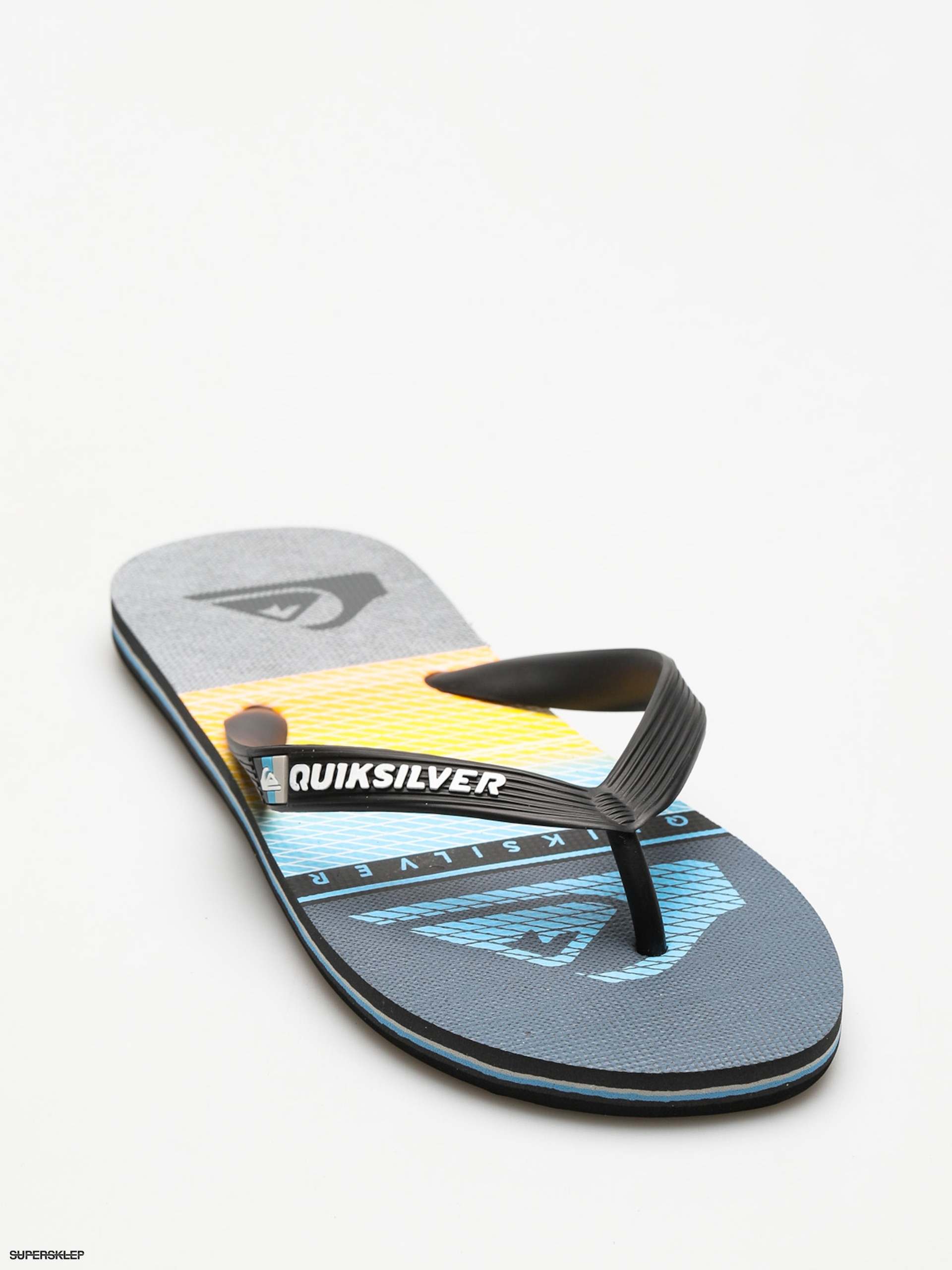 Plážovky Quiksilver Molokai Highline Slab (black/grey/blue)
