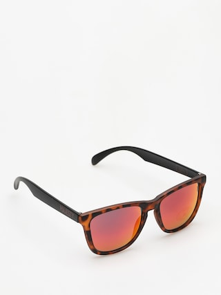 Sluneu010dnu00ed bru00fdle Majesty Shades M (tortoise/black red mirror lens)