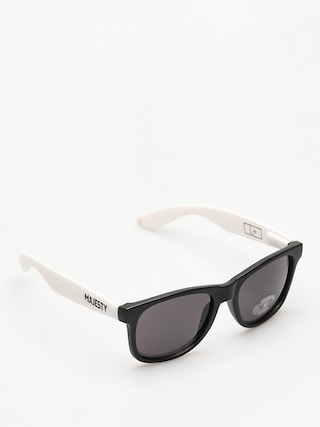Sluneu010dnu00ed bru00fdle Majesty Shades L (black/white smoke lens)