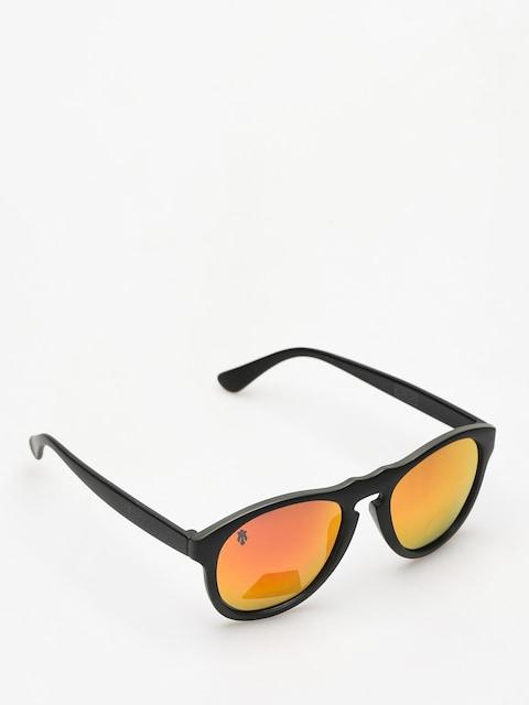 Sluneční brýle Majesty Crux (black/graphite red mirror lens)