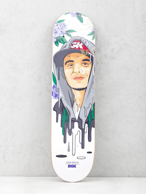 Deska DGK Kalis Murked (white/purple)