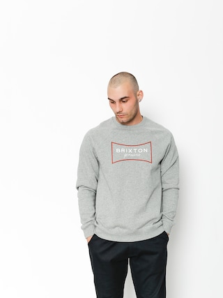 Mikina Brixton Ramsey III Intl Crew (heather grey)