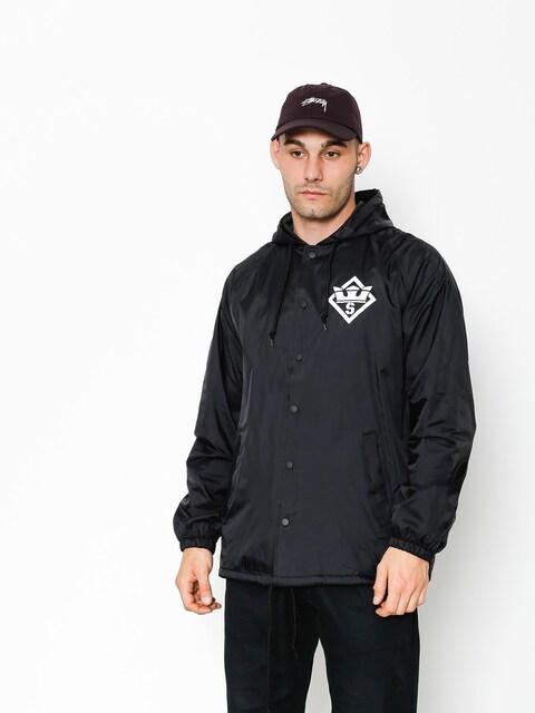 Bunda Supra Stencil Hood Coaches (black)