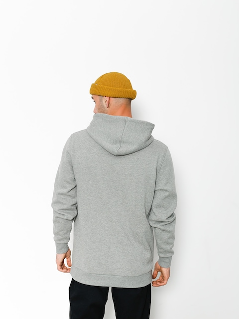 Mikina s kapucí Supra Lines HD (grey heather)