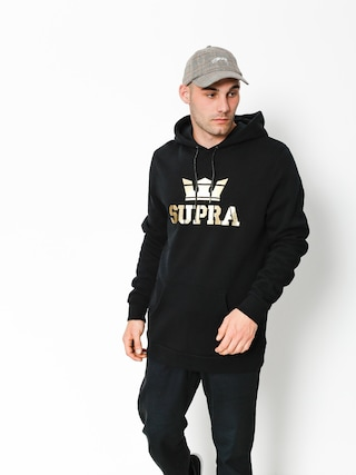 Mikina s kapucí Supra Above HD (black/gold)