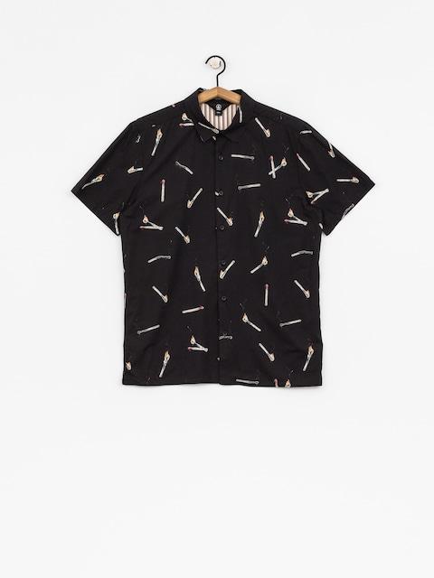 Košile Volcom Waits (blk)