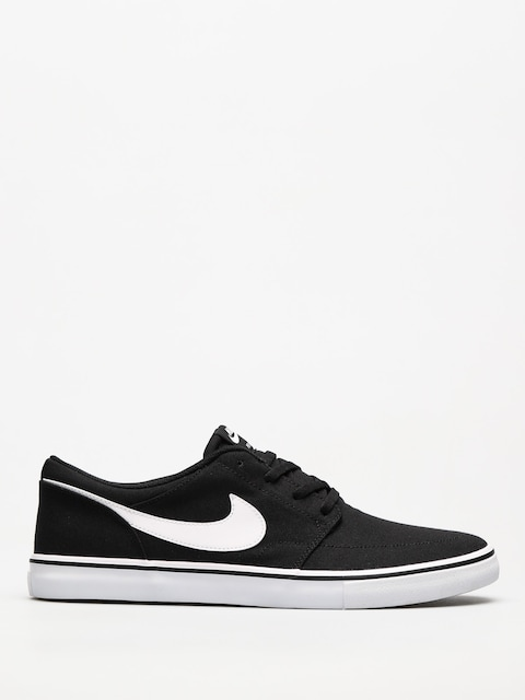 Boty Nike SB Sb Solarsoft Portmore II Canvas (black/white)
