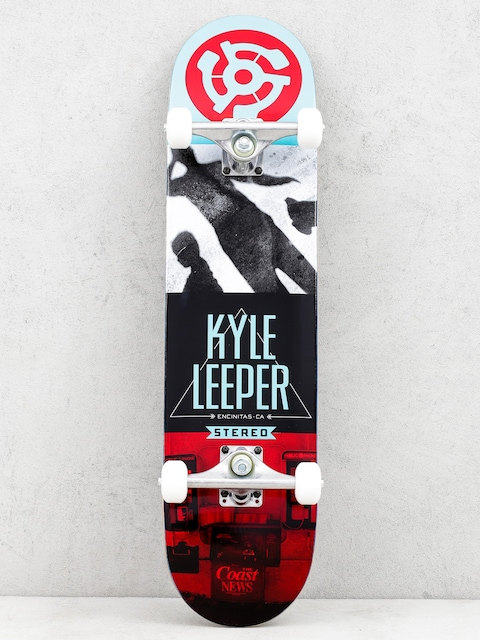 Skateboard Stereo Encinitas Ca Kyle Leeper (teal/white/black/red)