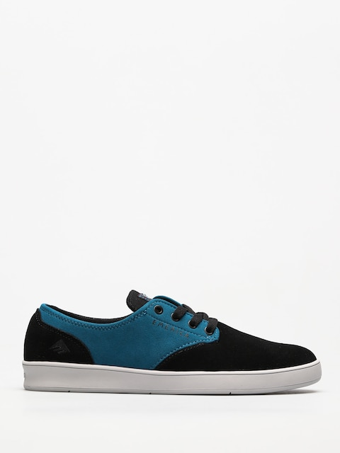 Boty Emerica The Romero Laced X Toy Machine (black/turquoise)