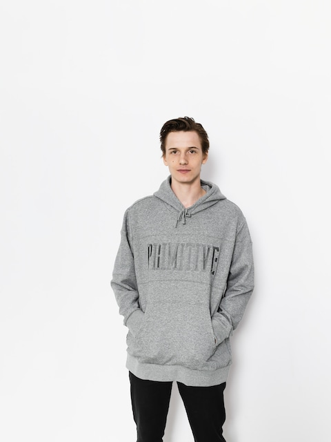 Mikina s kapucí Primitive League Paneled HD (grey)
