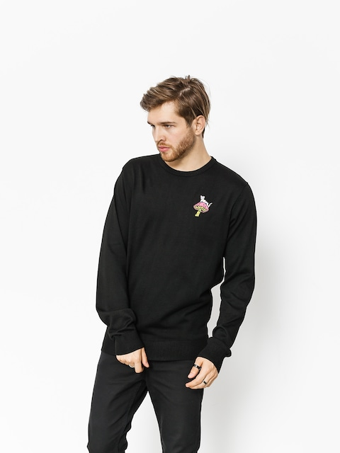 Svetr RipNDip Psychedelic Knit (black)