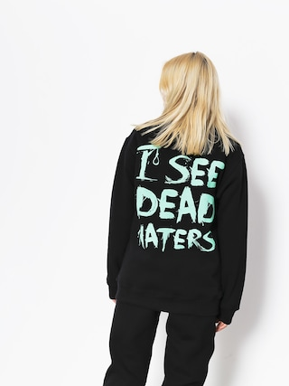 Mikina Diamante Wear I See Dead Haters (black/mint)