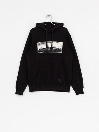 Mikina s kapucí Tabasko Alcatraz HD (black)