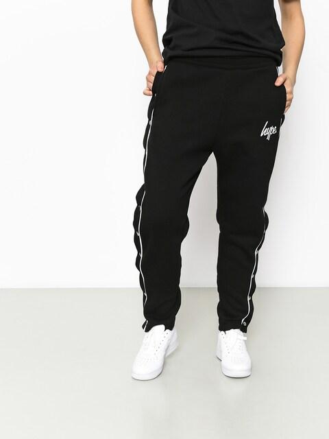 Kalhoty Hype Popper Jogger Wmn (black/white)