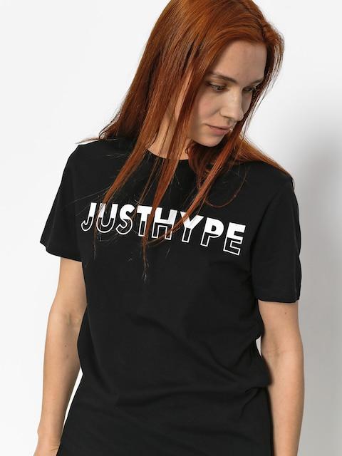 Tričko Hype Justhype Half Wmn (black/white)