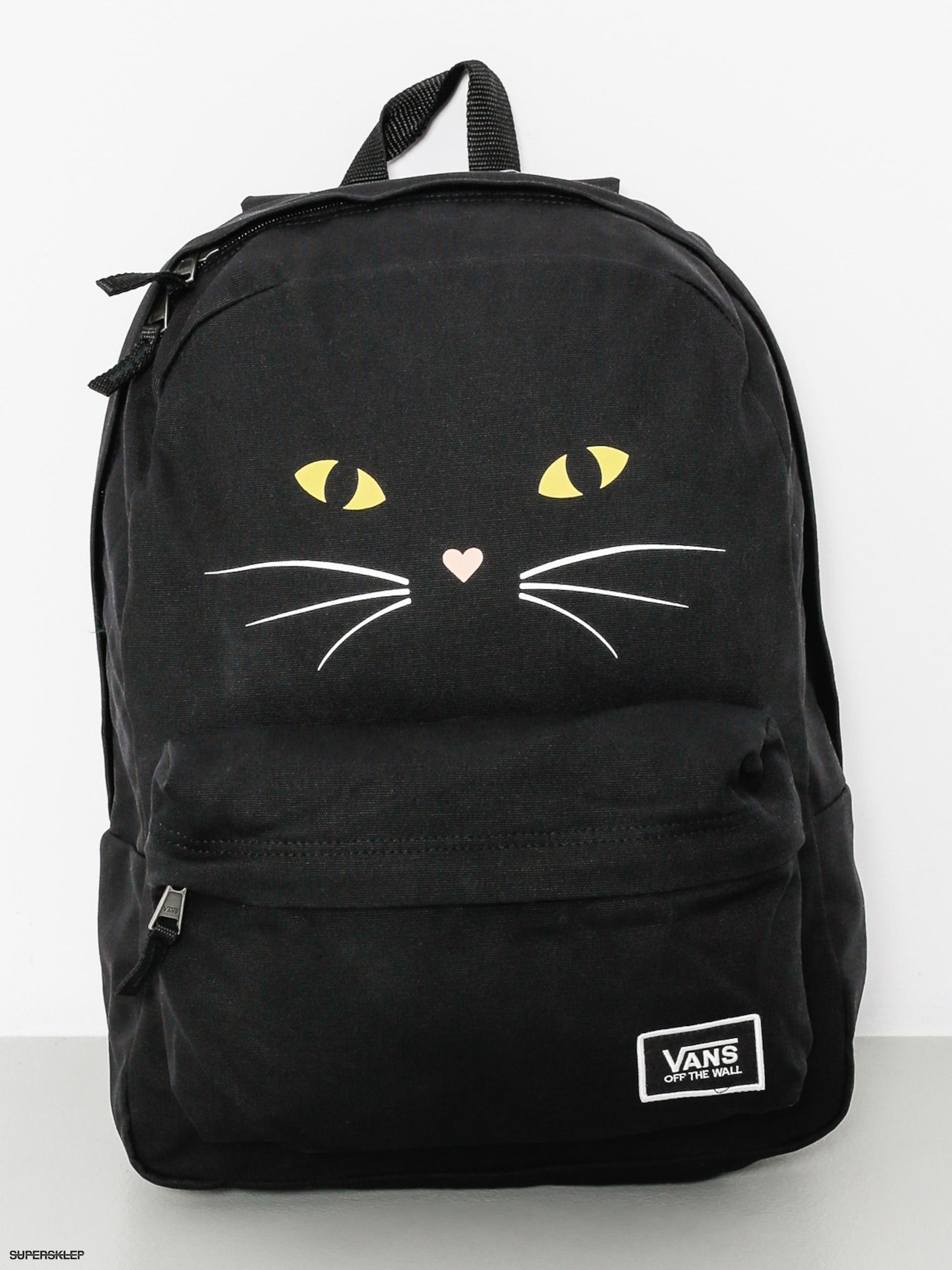 1fd0295d3c Batoh Vans Realm Classic Wmn (black cat)