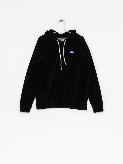 Mikina s kapucí Koka Velvet HD (black)