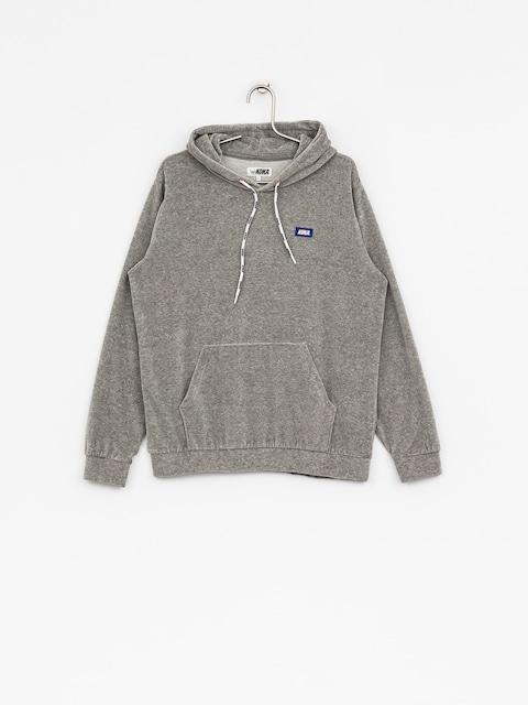 Mikina s kapucí Koka Velvet HD (grey)