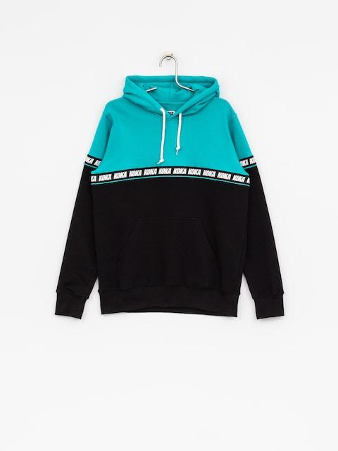 Mikina s kapucí Koka Trap HD (turquoise)