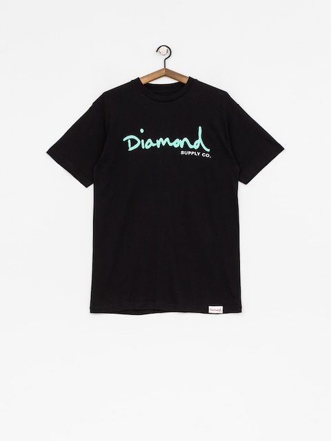 Tričko Diamond Supply Co. Og Script (black)