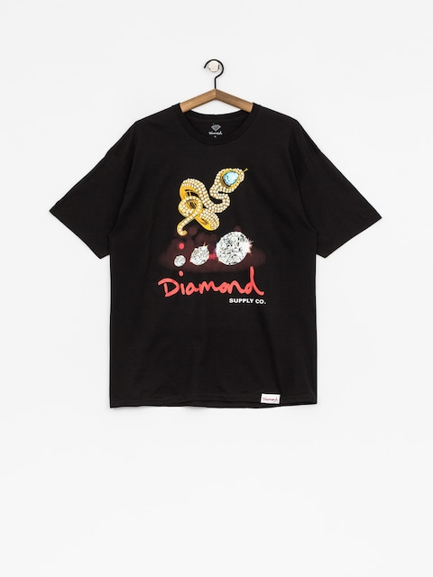 Tričko Diamond Supply Co. Snake (black)