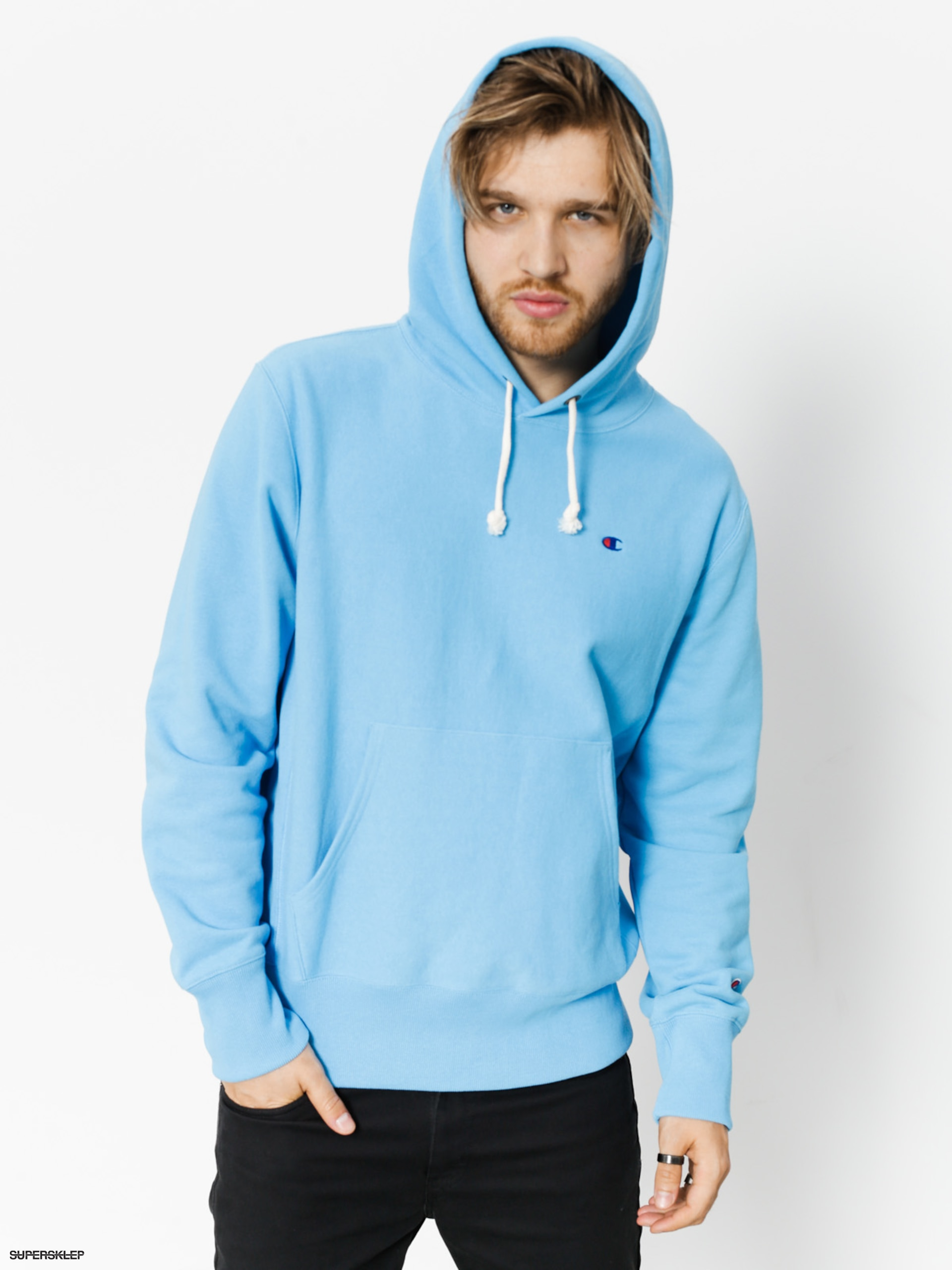 Mikina s kapucí Champion Reverse Weave Hooded Sweatshirt HD (azb)