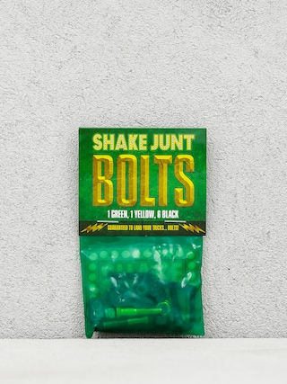 Šroubky Shake Junt Bolts Allen (black/green/yellow)