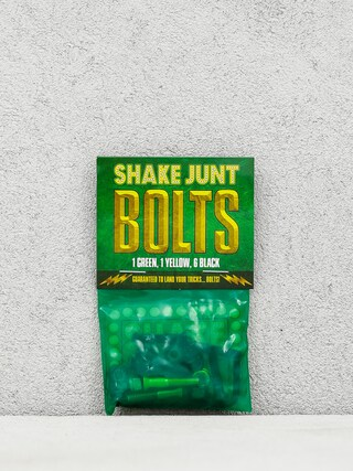 u0160roubky Shake Junt Bolts Allen (black/green/yellow)