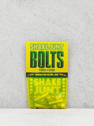 Šroubky Shake Junt Bolts Phillips (green/yellow)
