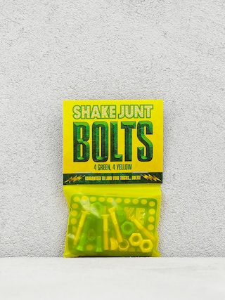 Šroubky Shake Junt Bolts Allen (green/yellow)