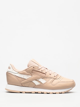 Boty Reebok Classic Leather Wmn (sidestripes bare beige/white)
