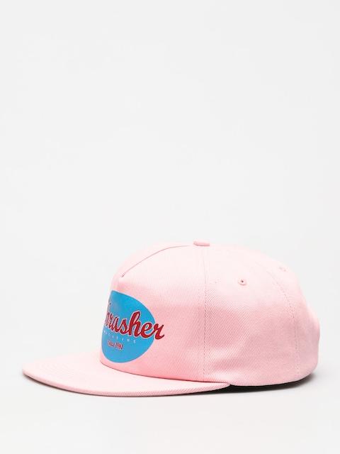Kšiltovka  Thrasher Oval ZD (pink)