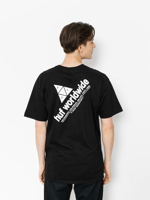 Tričko HUF Peak (black)