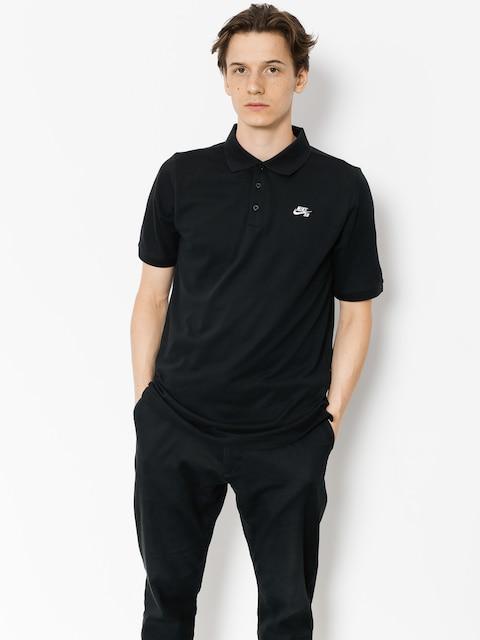 Nike SB Polo tričko Sb Dri Fit Pique (black)