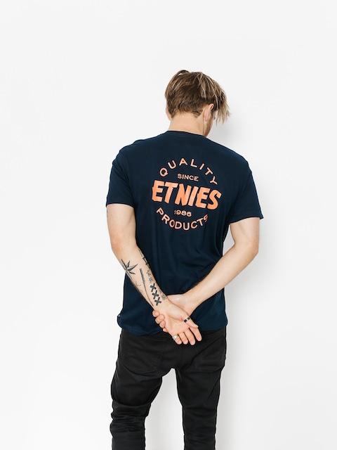 Tričko Etnies Quality Control (navy)