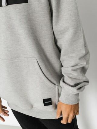 Mikina s kapucí Tabasko Rectange HD (grey heather)